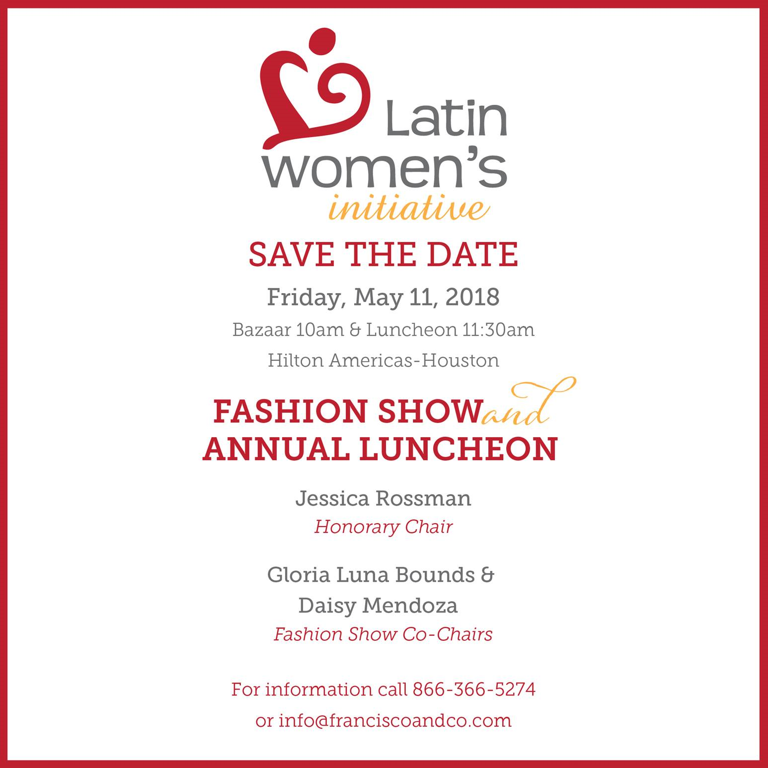 Annual Luncheon and Fashion Show 2018 | Latin Women\'s Initiative